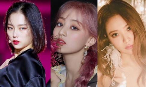 A Pink, CLC, Yeeun, Cosmic Girls, Dal Shabet, Subin (DALsooobin), DIA, Dream Catcher, LABOUM, PRISTIN, Red Velvet, Yeri, TWICE