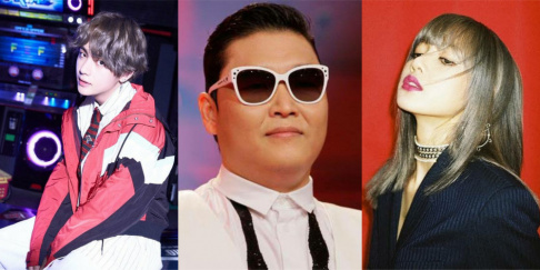 BLACKPINK, BTS, Psy