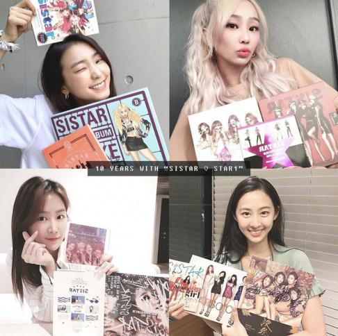 SISTAR, Hyolyn, Bora, Soyu, Dasom