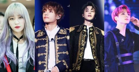 V, Jungkook, Jimin, Hani