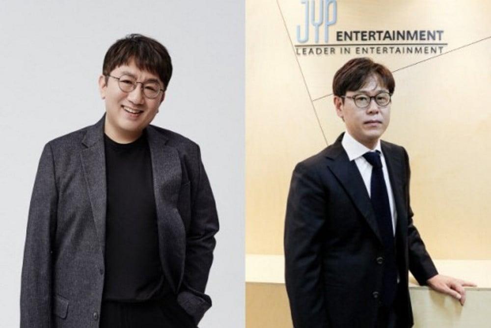Big Hit S Bang Si Hyuk And Jype S Jimmy Jeong Land On Billboard S