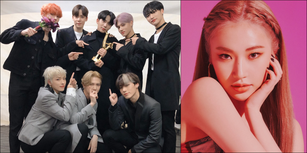 Rookie Girl Group Secret Number S Jinny Says She S A Big Fan Of Ateez Denise Shows Her Love For Ateez Allkpop