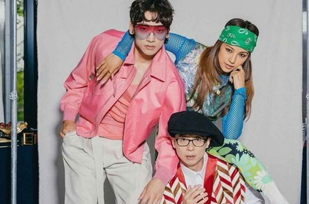 Lee Hyori, Yoo Jae Suk & Rain reveal funky, modern concept photos ...