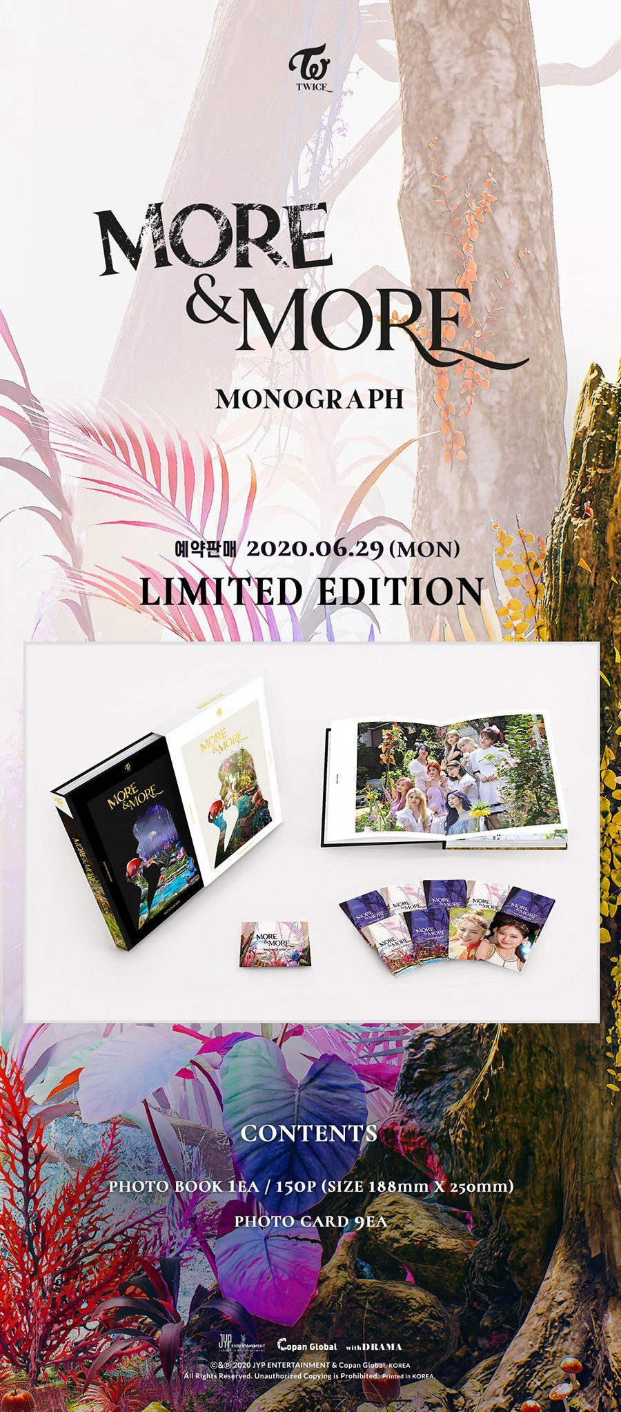 TWICE gives preview of contents inside 'More & More' monograph limited edition | allkpop