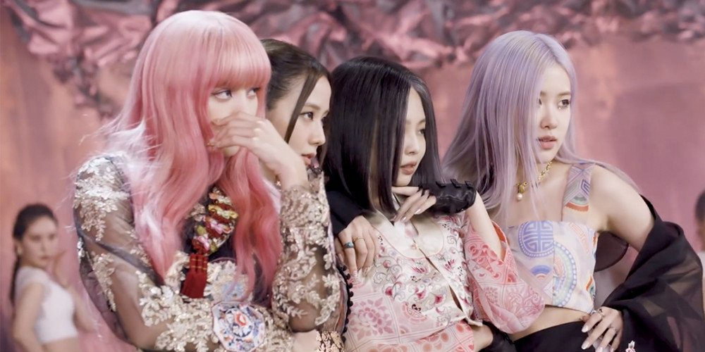Netizens Are Head Over Heels For Blackpink S Gorgeous Modernized Korean Hanbok Outfits In How You Like That Allkpop
