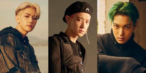 EXO, Baekhyun, Kai, Chanyeol