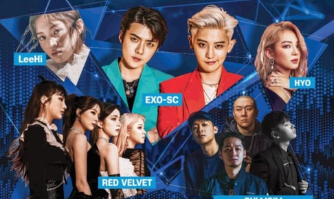 EXO-SC, Hyoyeon, Lee Hi, Red Velvet