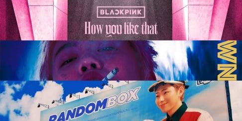 BLACKPINK, Zico, SUGA, IU, Jo Jung Suk, Hwa Sa, Oh My Girl, Rain, Sunmi
