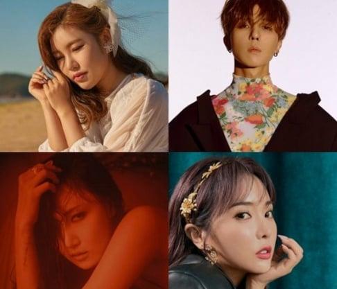 (Jessica H.o.) Jessi, MAMAMOO, Hwa Sa, Kim Jae Hwan, WINNER, Song Min Ho (Mino)
