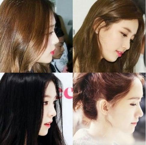 Sulli, YoonA, Suzy, Irene