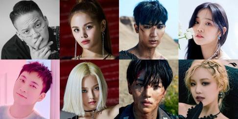 BTOB, Eunkwang, Peniel, CLC, Sorn, Yeeun, (G)I-DLE, Yuqi, Soojin, Pentagon, Yuto, Kino