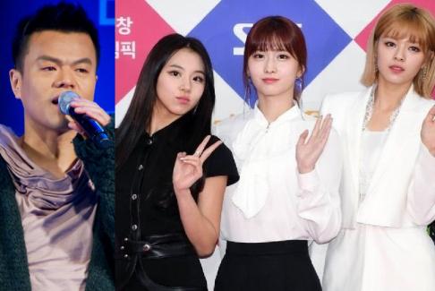 J.Y. Park, TWICE, Park Ji Min