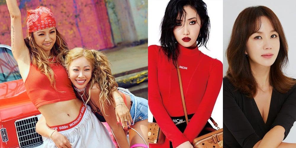 Lee Hyori, (Jessica H.o.) Jessi, Hwa Sa, Uhm Jung Hwa