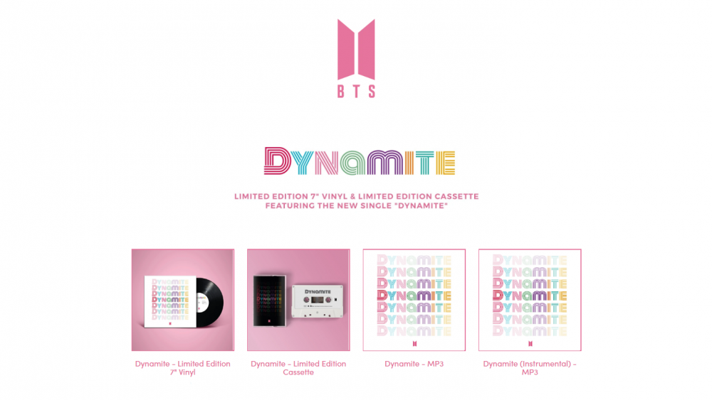New BTS single will be titled 'Dynamite'