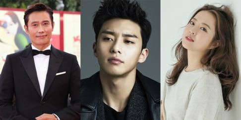 Lee Byung Hun, Park Bo Young, Park Seo Joon