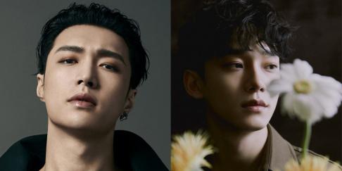 EXO, Chen, Lay