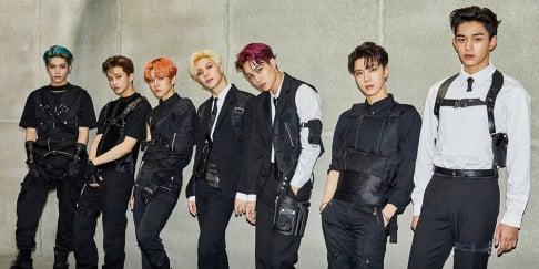 Baekhyun, Kai, Taeyong, Mark, TEN, Lucas, Taemin, SuperM