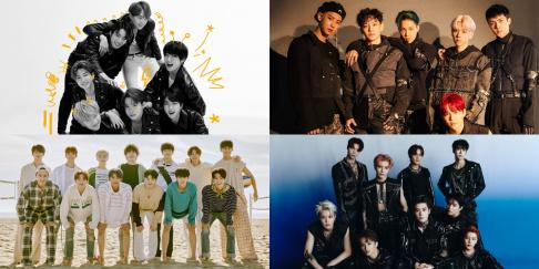 BTS, EXO, NCT, Seventeen