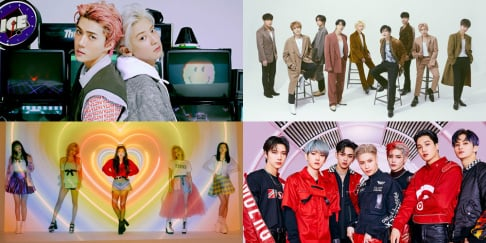 EXO-SC, Red Velvet, Super Junior, SuperM