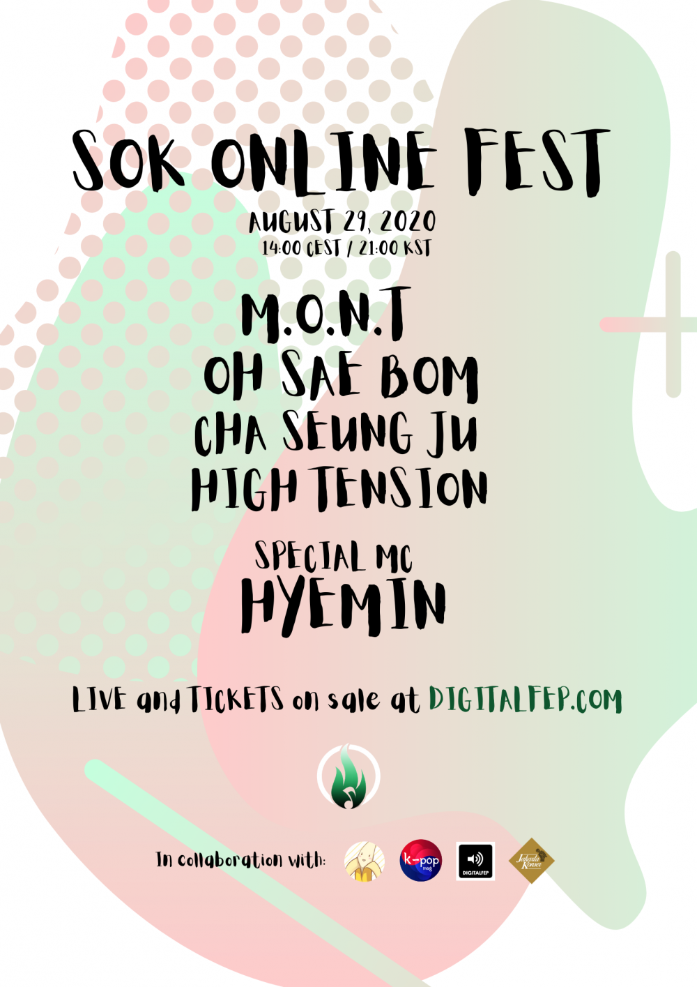 sok online fest mont hyemin oh sae bom high tension cha seung ju