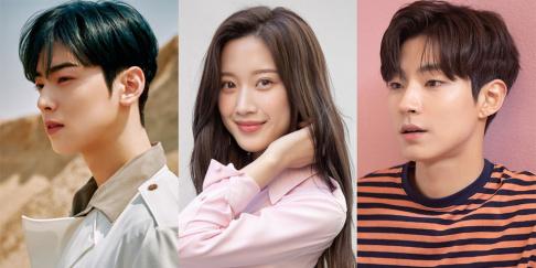 Cha Eun Woo, Moon Ga Young