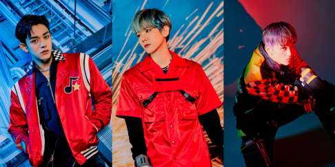 Baekhyun, Mark, Lucas, SuperM