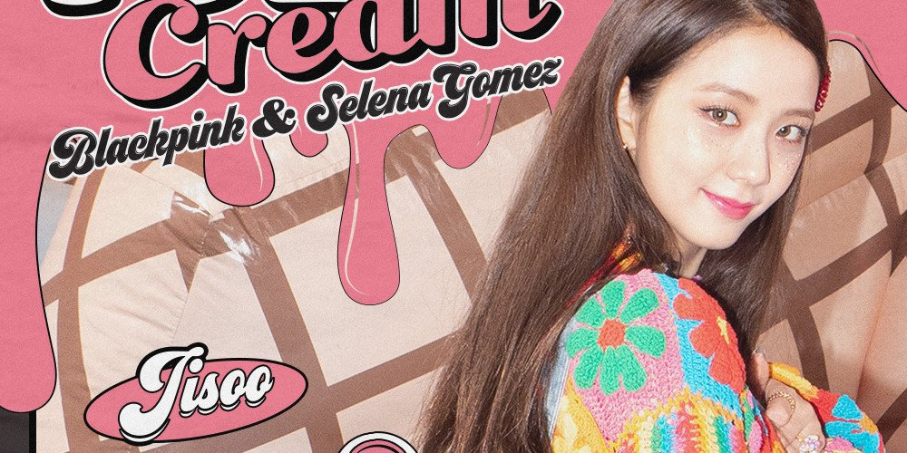 Check Out Jisoo S Colorful Teaser For Ice Cream Allkpop