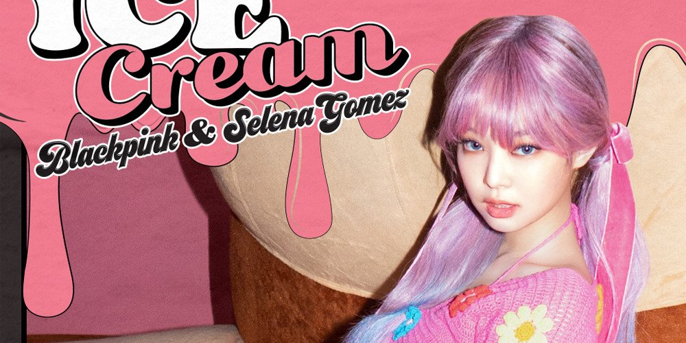 Blackpink S Jennie Is A Pink Haired Flower Girl In Her Newest Ice Cream Teaser Image Allkpop
