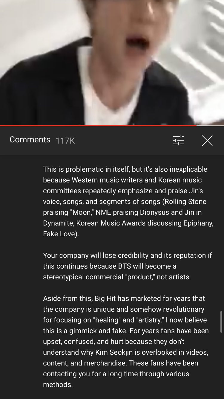 Bts Fans Ask For Better And Fair Treatment To Seokjin Jin With A Truck Project Allkpop