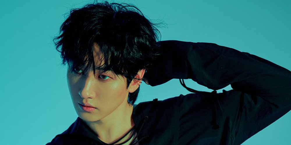 Super Junior D E S Eunhyuk Is Sultry In Black In His Hot Blood Version Teaser Images Allkpop And eunhyuk annoyed with it. hot blood version teaser images
