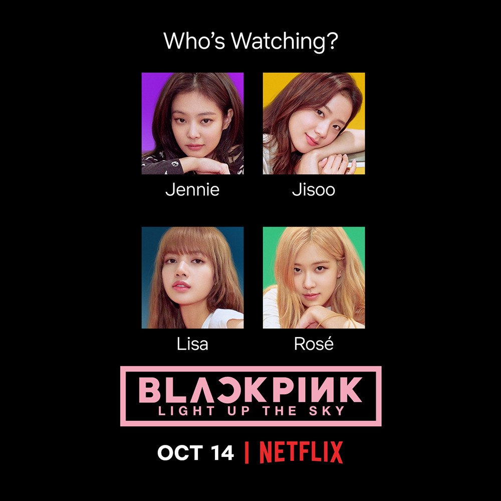 A Blackpink documentary from Netflix is coming to your area