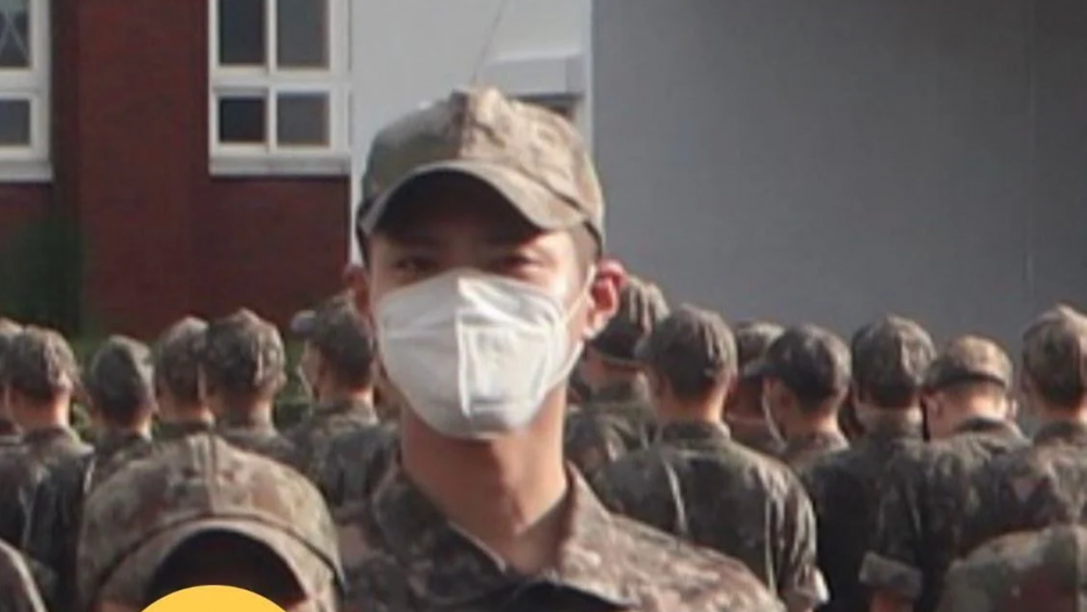 Photo of Park Bo Gum in his military uniform revealed | allkpop