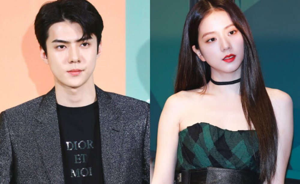 EXO's Sehun & BLACKPINK's Jisoo revealed as 2 of 3 stars for 'Pasha de Cartier' digital project | allkpop