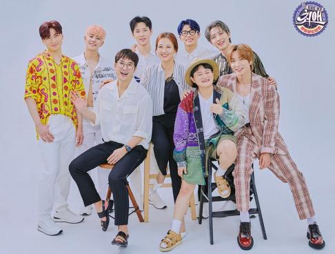 MJ, Jang Yoon Jung, Kim Shin Young, Hui, Leeteuk