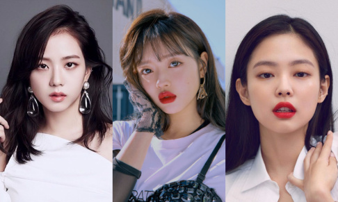 Jennie, Jisoo, Soojin, Soyeon, Seohyun, Arin, YooA, Irene, Seulgi, Joy