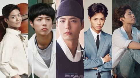 Hyeri, Go Kyung Pyo, Kim Go Eun, Kim Yoo Jung, Lee Dong Hwi, Park Bo Gum, Seo In Guk, Song Hye Kyo