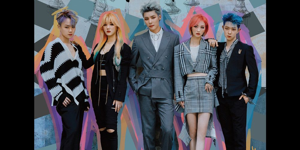 Mixed-gender group CHECKMATE drops album cover on day of debut