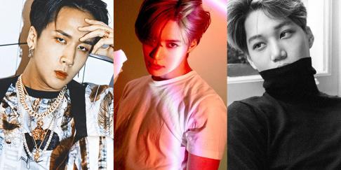 EXO, Kai, SHINee, Taemin, VIXX, Ravi