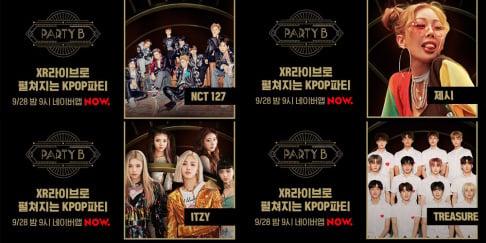 AB6IX, Crush, ITZY, Jang Sung Kyu, Kim Chung Ha, (Jessica H.o.) Jessi, NCT 127, Super Junior, Eunhyuk, Donghae, TREASURE