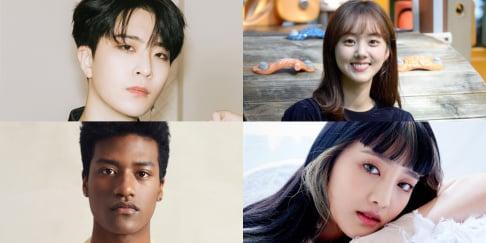 (G)I-DLE, Minnie, GOT7, Youngjae (GOT7), Han Hyun Min