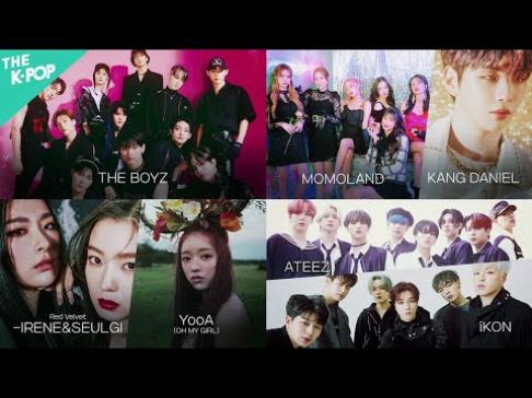 ATEEZ, iKON, Momoland, Oh My Girl, YooA, Red Velvet, Irene, Seulgi, The Boyz, Kang Daniel