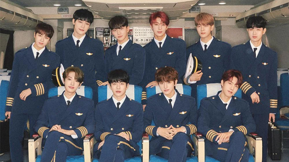 Golden Child become pilots in the C version of their 2nd single album 'Pump  It Up' concept photos | allkpop