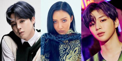 BTS, Jimin, Hwa Sa, Kang Daniel