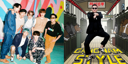 BTS, Psy