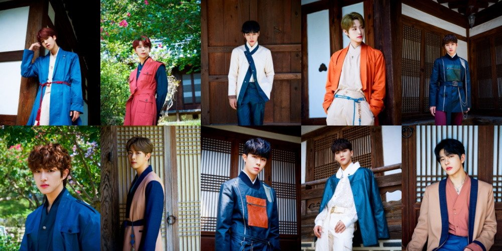 Golden Child collaborate with GUIROE for modern hanbok line | allkpop
