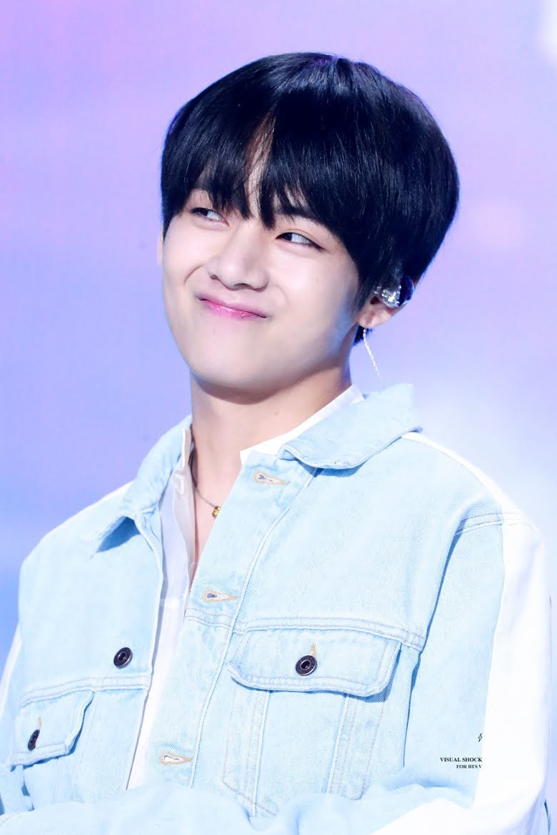 V represents the ethereal beauty and is named the face of K-Pop