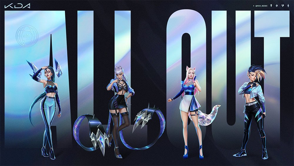 'League of Legends' K-pop group K/DA reveal MV teaser for 'More' feat. (G)I-DLE