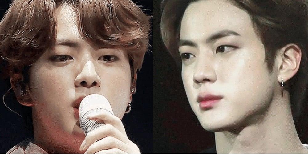 Netizenler, BTS Jin'in Bir Günde Sergilenen İki Zıt Saç Stiline Aşık!