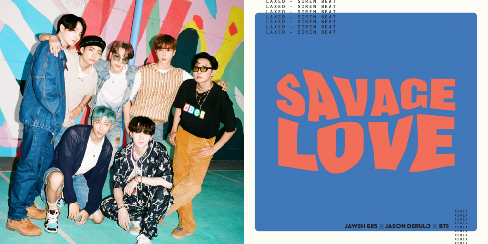 Bts Tops The Billboard Hot 100 Again With The Remix Of Savage Love With Jason Derulo And Jawsh 685 Allkpop
