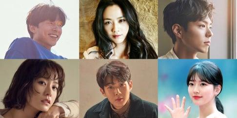 Choi Woo Sik, Gong Yoo, Jung Yoo Mi, Suzy, Park Bo Gum